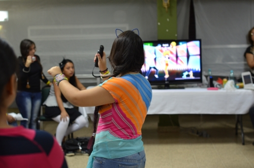 baile con televisión