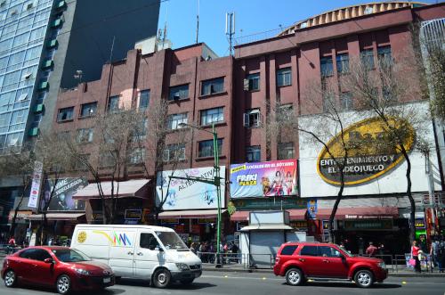 area de AKIBA en la ciudad de México