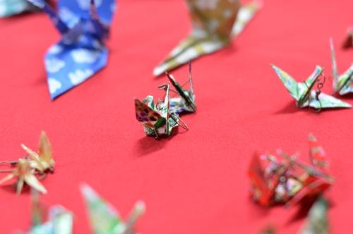 pandiente de origami