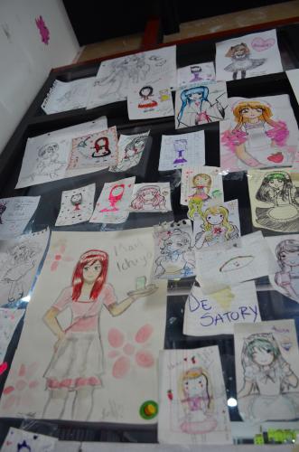 pintura de maid