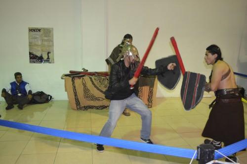 combate con espada